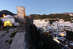 Andalusian village Casares, Spain Stock Photos
