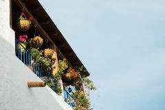 Andalusian village facade Royalty Free Stock Image