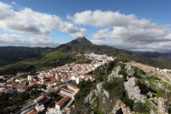 Andalusian village Gaucin, Spain Royalty Free Stock Photo