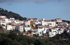 Andalusian village Gaucin, Spain Royalty Free Stock Images