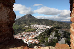 Andalusian village Gaucin, Spain Royalty Free Stock Photos