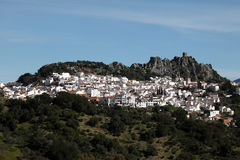 Andalusian village Gaucin. Spain Stock Image