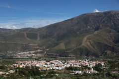 Andalusian village Orgiva, Spain Stock Photography