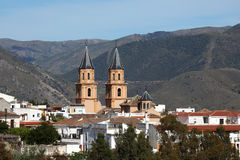 Andalusian village Orgiva, Spain Stock Image