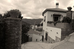 Andalusian village photo Stock Image