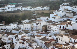 Andalusian village photo Royalty Free Stock Images