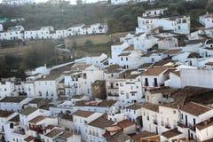 Andalusian village photo. Nice Andalusian village photo detail Royalty Free Stock Photos
