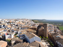 Andalusian village in Spain Royalty Free Stock Photos