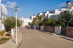 Andalusian village street Royalty Free Stock Image