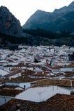 Andalusian vit by grazalema Royaltyfria Foton