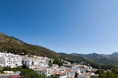 Andalusian white villages in Spain Royalty Free Stock Image