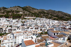 Andalusian white villages in Spain Stock Images