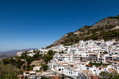 Andalusian white villages in Spain Royalty Free Stock Photo