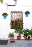 Andalusian white villages in Spain Stock Image