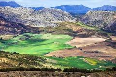 Andalusien-Landschaft in Spanien Lizenzfreies Stockbild