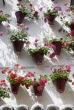 Andalusischer Patio Stockbilder