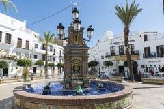 Andalusisches Dorf, Spanien Stockfotografie