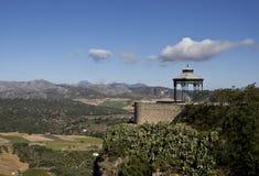 Andaluzian Land-Ansicht Lizenzfreie Stockfotos