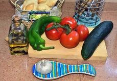 Andaluzyjski jedzenie Zdjęcie Royalty Free