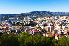 Andaluzyjski miasto Malaga Obraz Royalty Free