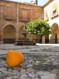 Andaluzyjski podwórze Zdjęcie Royalty Free