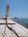 andaman море Таиланд смычка шлюпки деревянный Стоковые Фото