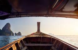 andaman море шлюпки стоковое изображение rf