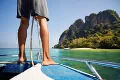 andaman море шлюпки Стоковые Фотографии RF