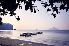andaman море шлюпки стоковое фото