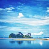 Берег моря Andaman Стоковое Изображение RF