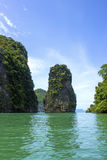 Andaman bay island, Thailand Royalty Free Stock Images