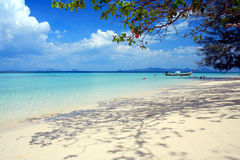 Andaman Beach. While high noon stock photo