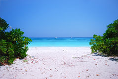 Andaman Beach. Beautiful Andaman Beach in Thailand royalty free stock photography