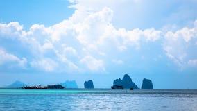 Andaman beach in thailand. Andaman green beach in Thailand Royalty Free Stock Photos