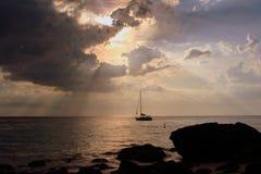 Andaman Beach VIII. Andaman beach while late noon Royalty Free Stock Image