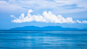 Andaman blue sea in Thailand Stock Images