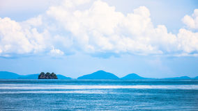 Andaman blue sea in Thailand Stock Image