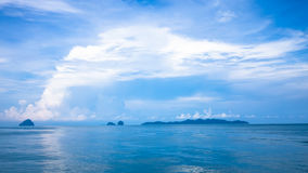 Andaman blue sea in Thailand Royalty Free Stock Photo