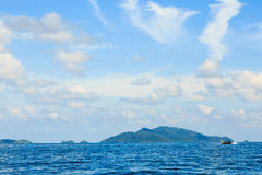 Andaman & Fisherman Royalty Free Stock Photos