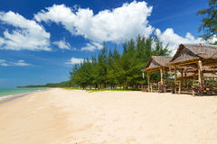 Пляж моря Andaman на острове Kho Khao Koh Стоковые Изображения