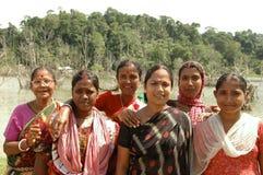Andaman kobiet grupa Obrazy Stock