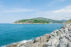 Andaman krajobraz Phuket Patong plaża, Karon plaża, Kat Bea Obraz Royalty Free