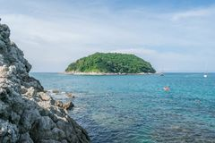 Andaman krajobraz Phuket Patong plaża, Karon plaża, Kat Bea Zdjęcie Royalty Free
