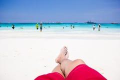 Andaman Meer in Thailand Lizenzfreies Stockbild