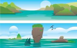 Andaman-Meer und Insel Thailand Lizenzfreies Stockfoto