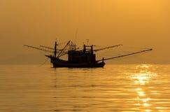 Andaman morze na zmierzchu Obrazy Royalty Free