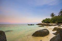 Andaman morze Satun Tajlandia Zdjęcia Royalty Free