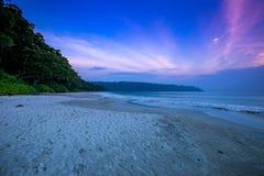 Andaman and Nicobar Islands. A View of Andaman and Nicobar Islands . This pic is of Havelock ISland , radhanagar beach royalty free stock photos