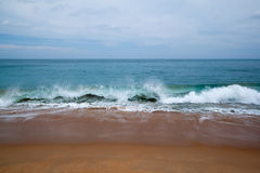 Andaman ocean surf Stock Images