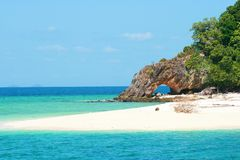 Andaman overzees Royalty-vrije Stock Afbeeldingen